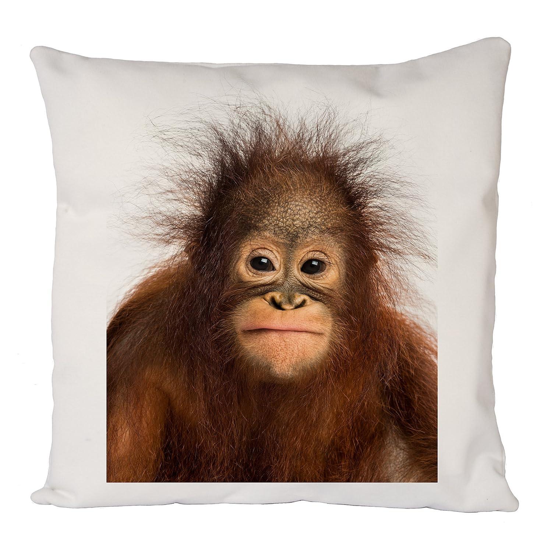 Home Sofa D/écor Cute Baby Monkey Pillow Case Cushion Cover