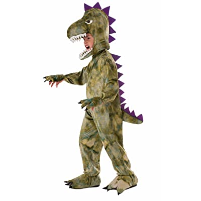 Forum Novelties Kids Dinosaur Costume, Green, Small: Toys & Games