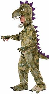 Forum Novelties Kids Dinosaur Costume Green Small  sc 1 st  Amazon.com & Amazon.com: Silly Safari Costume Triceratops CostumeToddler: Toys ...