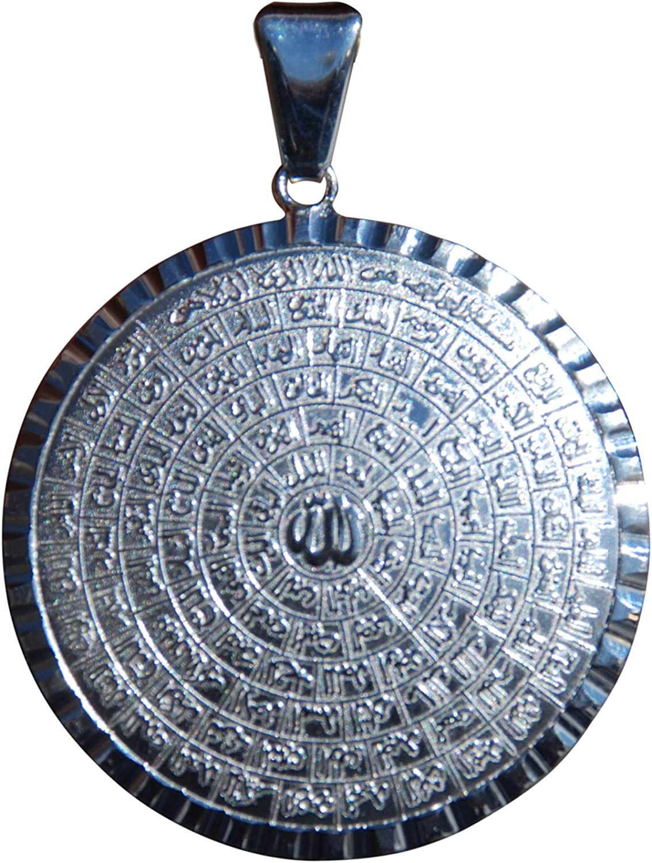 Handmade Sterling Silver İslamic Esma-ul Husna 99 God Names Men/'s Woman/'s Ring