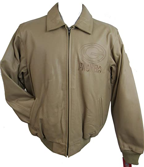 76496535 Amazon.com : G-III Green Bay Packers Mens Small Tan Full Zip ...