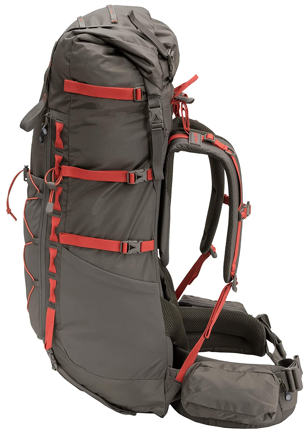 ALPS Mountaineering Nomad Internal Frame Backpack 65L-85L Gray//Blue 6624033