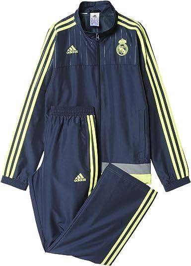 adidas Real Madrid CF PR Suit 2015/2016 - Chándal para niños ...