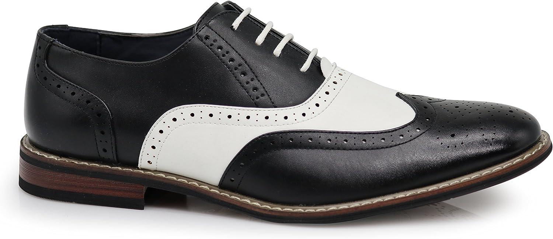 Amazon.com: Wood8 - Zapatos de vestir para hombre con ...