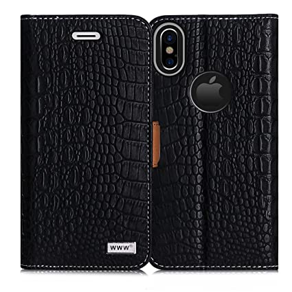 iphone x wallet case. iphone x case,iphone wallet case, www [crocodile pattern] premium pu iphone case