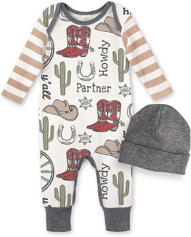 Tesa Babe Baby Boy Clothes Soft Cotton Romper Bodysuit Gift Set Jumpsuit Outfit