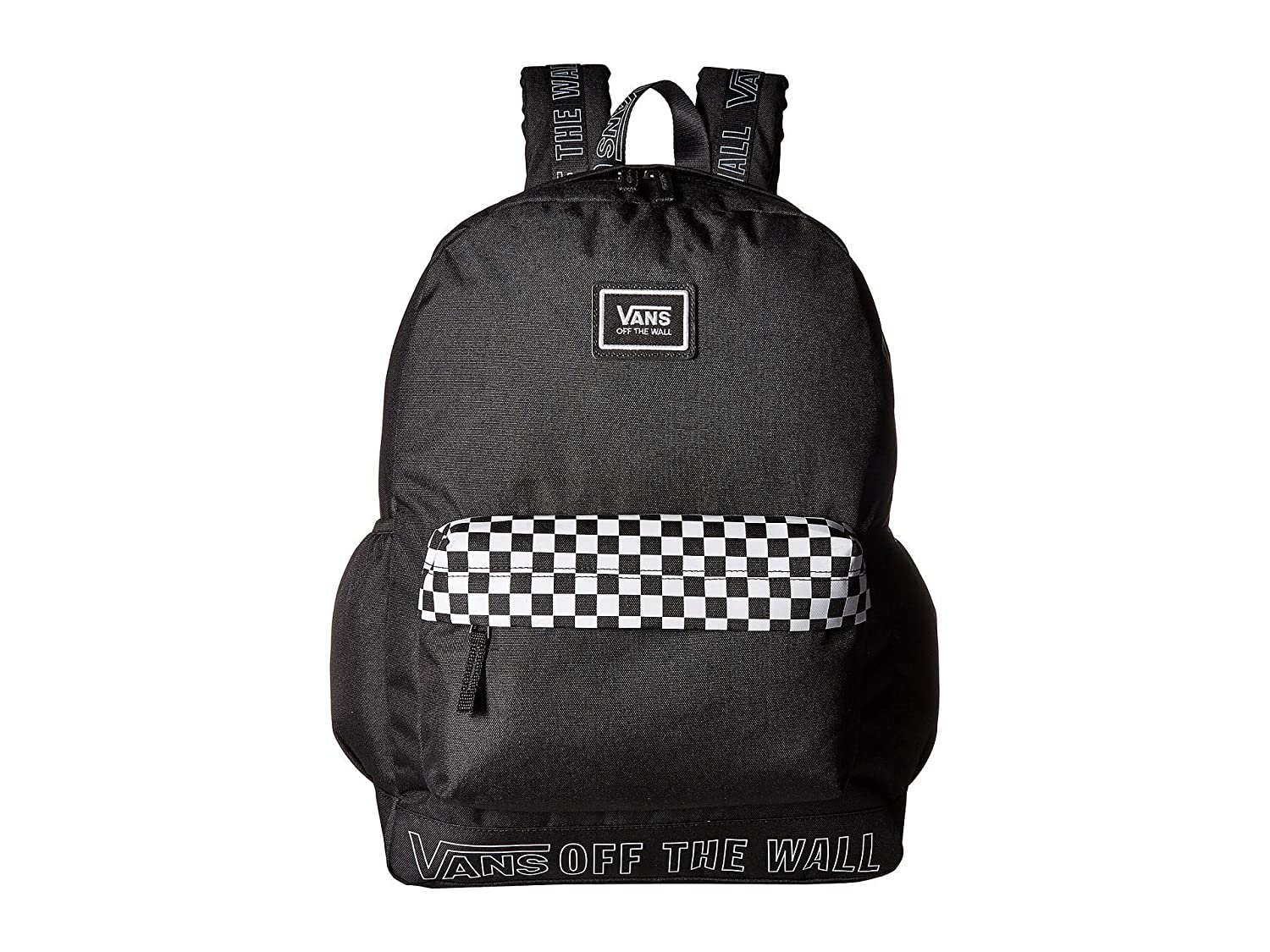 [VANS(バンズ)] リュックバックパック Sporty Realm Plus Backpack [並行輸入品] One Size Black/Surround B07P7Q7VNM