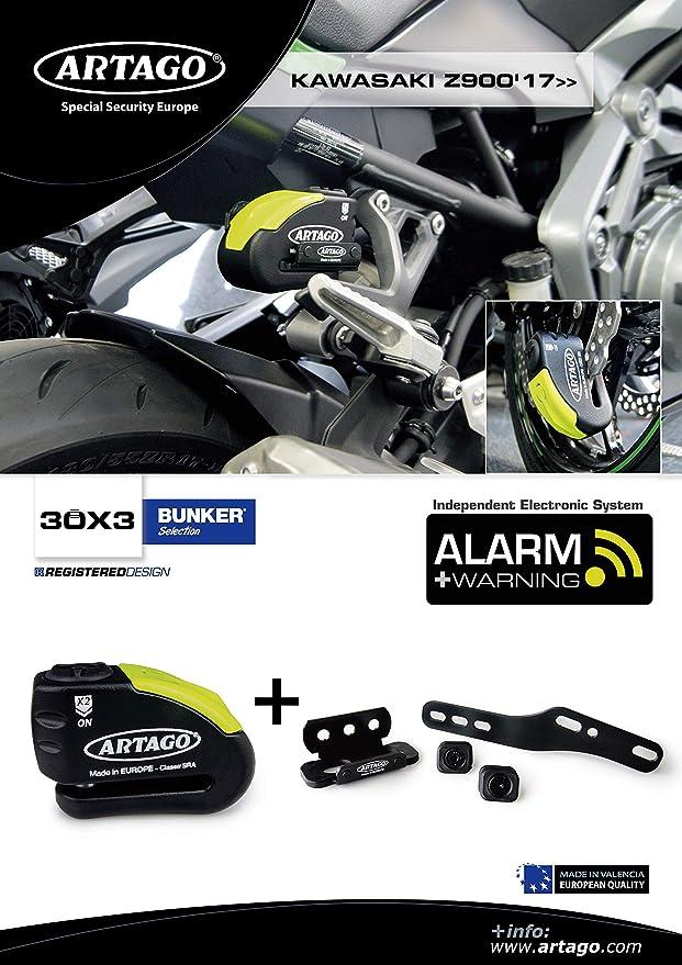 Artago 30X3 Antirrobo Disco Alarma 120Db Alta Gama Y Soporte ...
