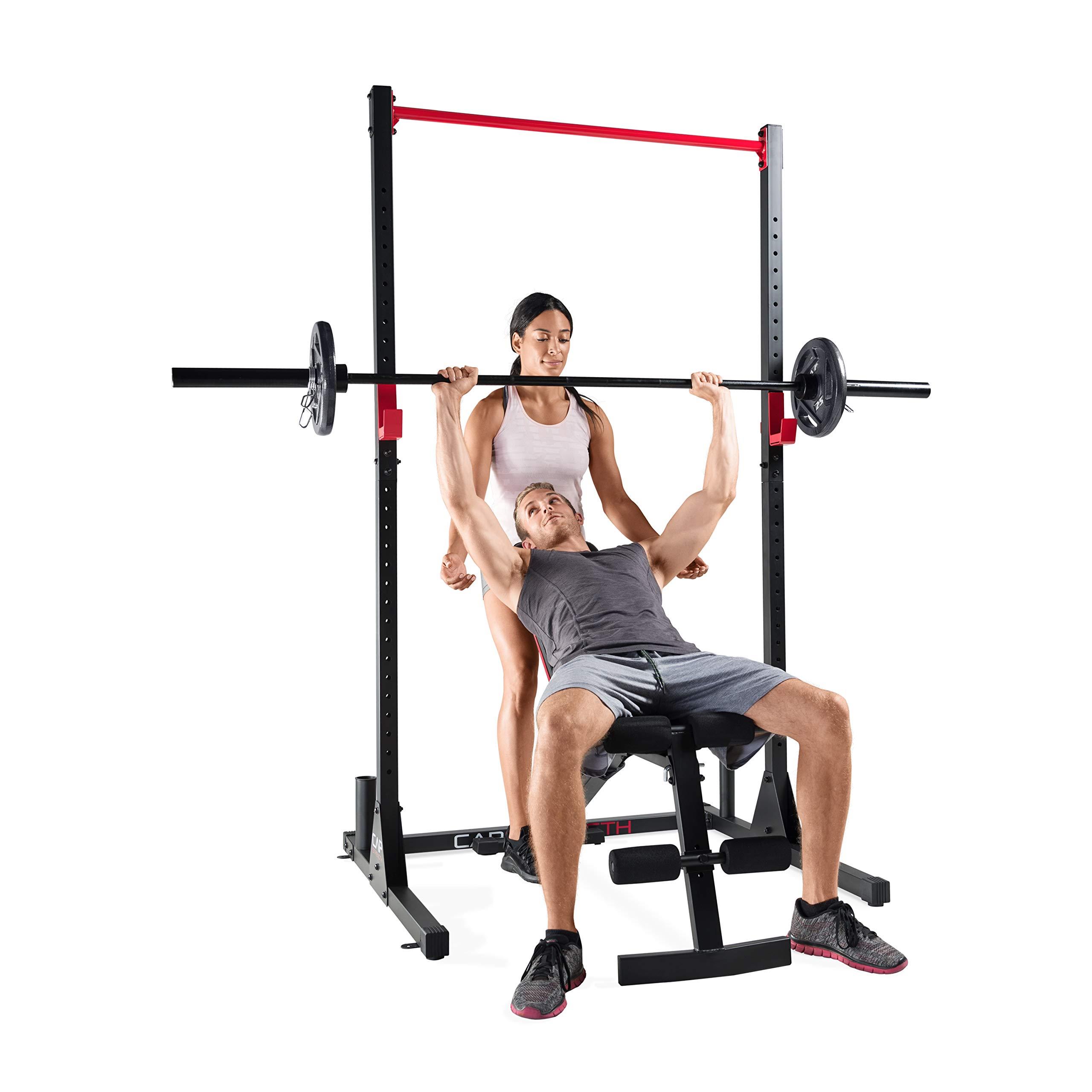 Cap Strength Power Rack and Bench Combo