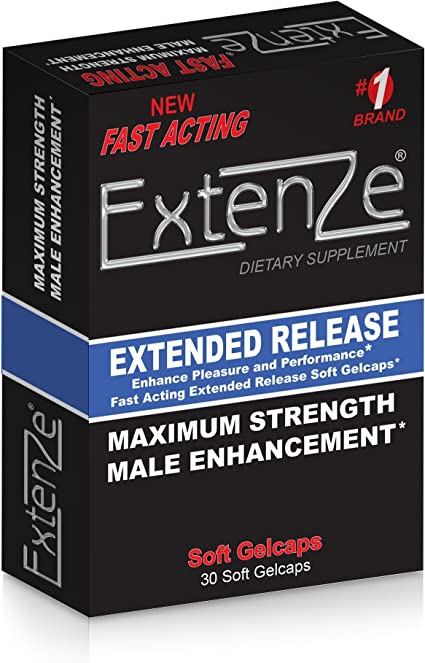 colors of the  Male Enhancement Pills Extenze