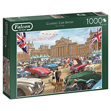 Falcon Games Classic Car Show Jigsaw Puzzle Piece Multi - Car show games