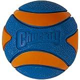 "Chuckit! Ultra Squeaker Ball Large, 3"", Blue & Orange"