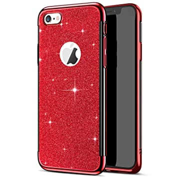coque iphone 6 rouge silicone