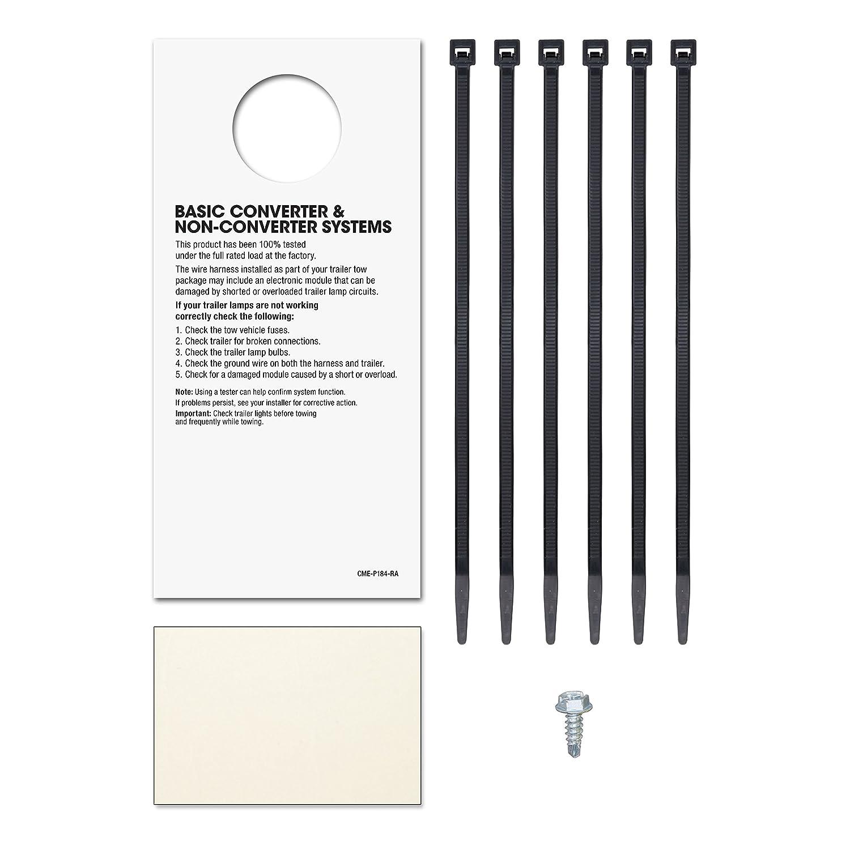 Trailer Hitch Wiring Harness Curt 56364 Simple Diagram Amazon Com Manufacturing Custom Connector Automotive Rv Plug