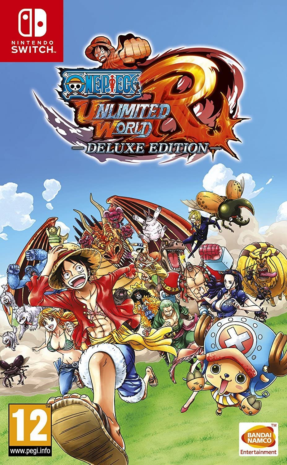 Amazon.com: One Piece Unlimited World Red - Deluxe Edition ...