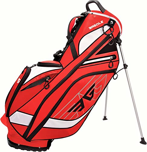 Eagole Super Light 4.3 Lbs, Golf Stand Bag with 8 Pockets one Cooler Pouch