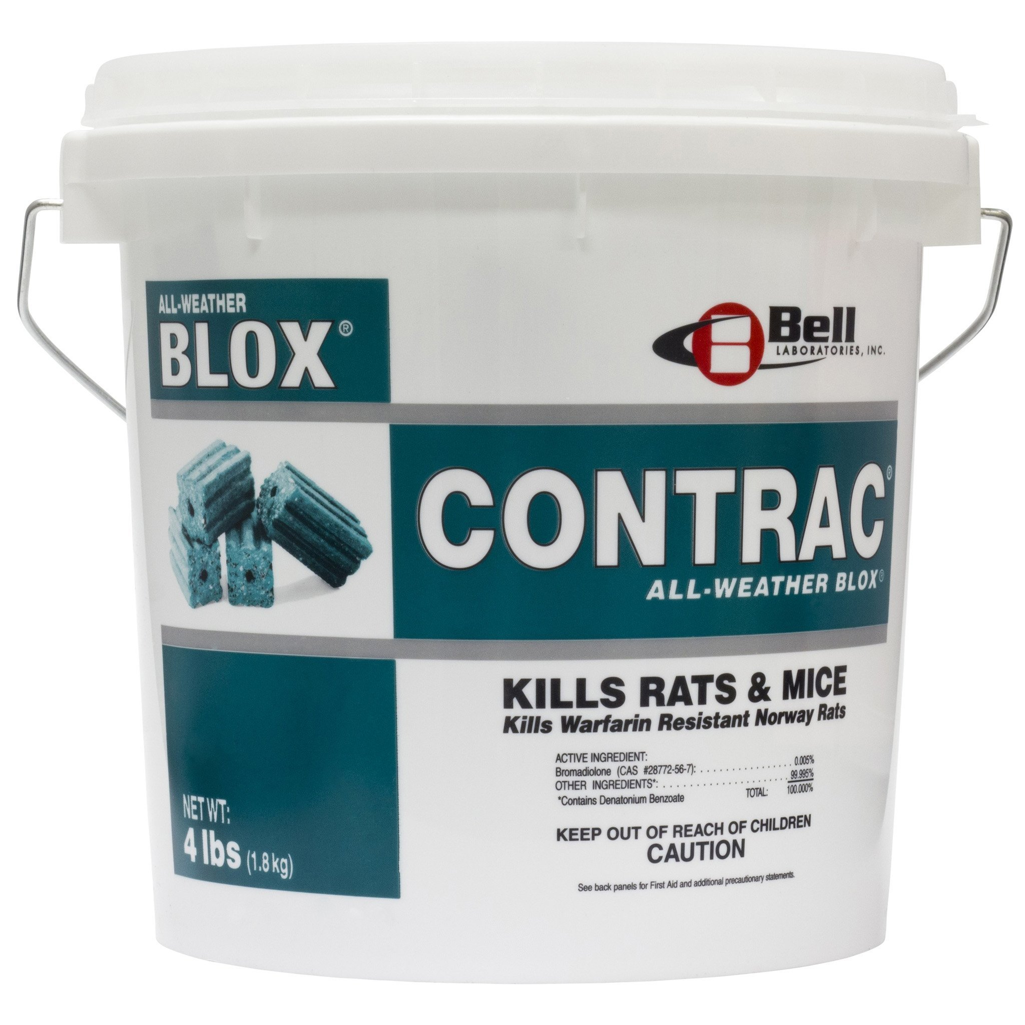 Contrac Blox 4x4 lb pails