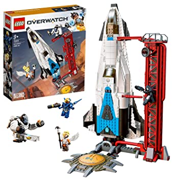 LEGO 75975 Overwatch Watchpoint: Gibraltar Toy with Pharah