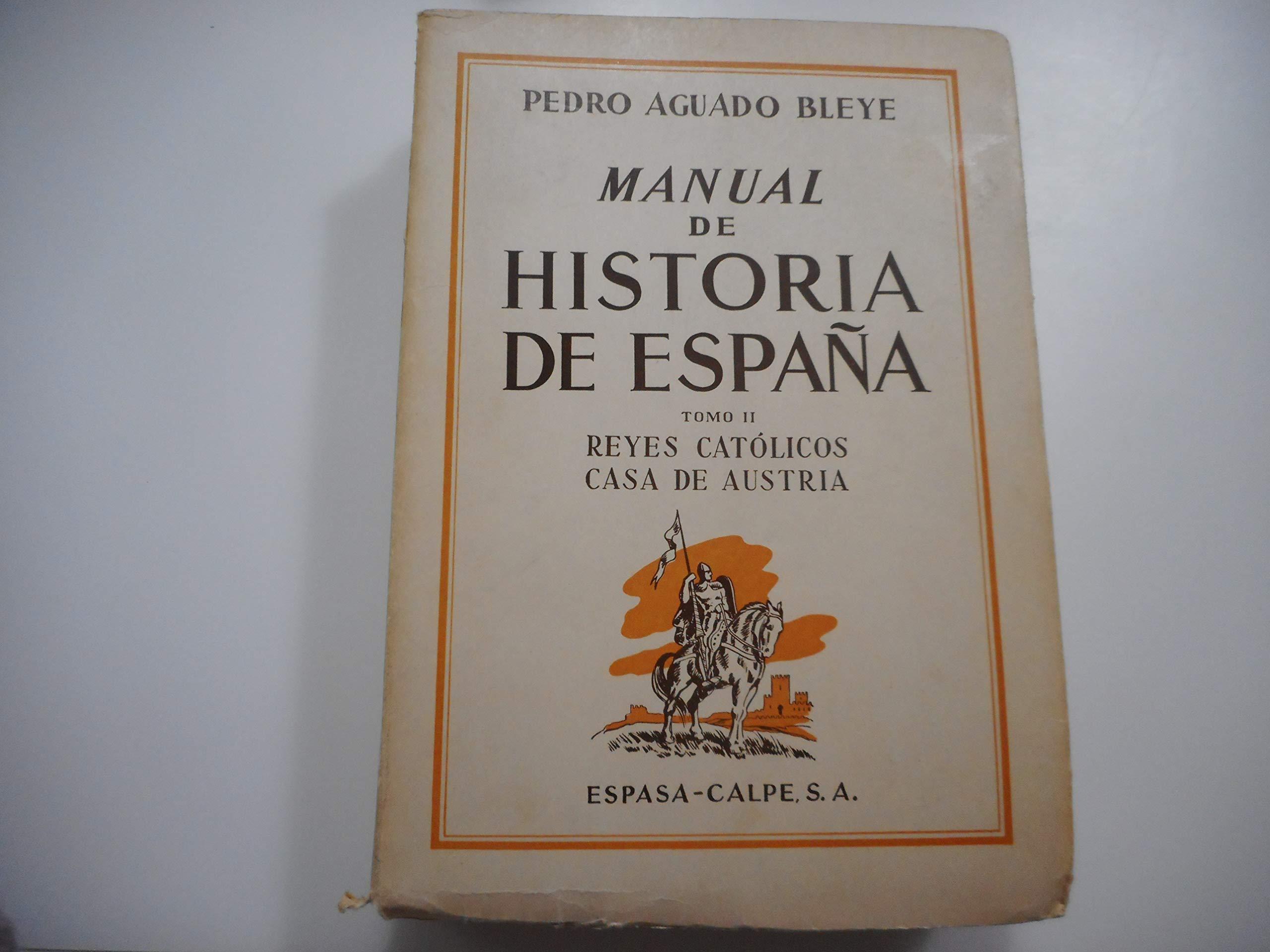 MANUAL DE HISTORIA DE ESPAÑA (3 volúmenes): Amazon.es: PEDRO ...