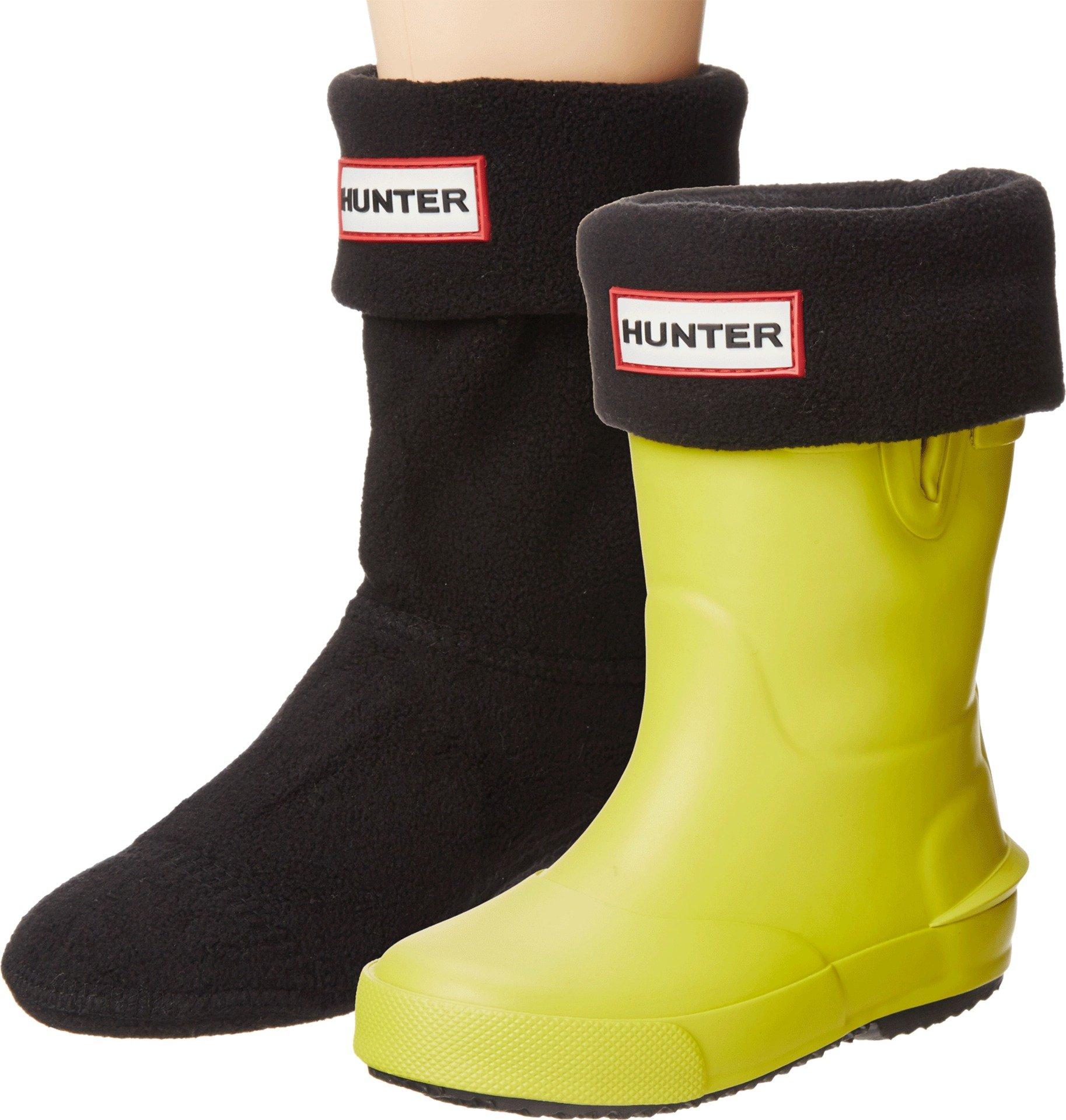 Hunter Kids Unisex Boot Sock (Toddler/Little Kid/Big Kid) Black Sock