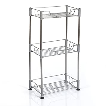 Tier Metal Bathroom Organiser Perfect For Storing Small