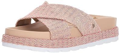 cbb45a821 Sam Edelman Women s Sadia Slide Sandal Candy red 5 M US