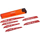 Freud DS006S Steel and Demolition Reciprocating Blade Assortment, 6-Piece