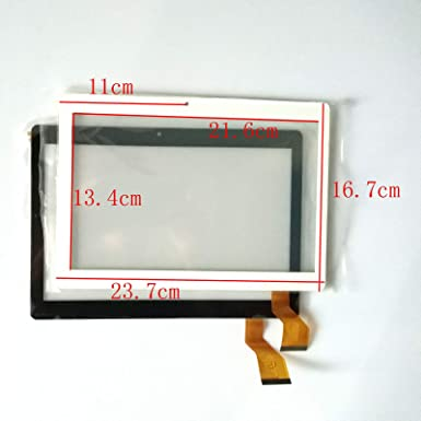 New  GT10JTY131 The camera hole is left Touchscreen For Tablet