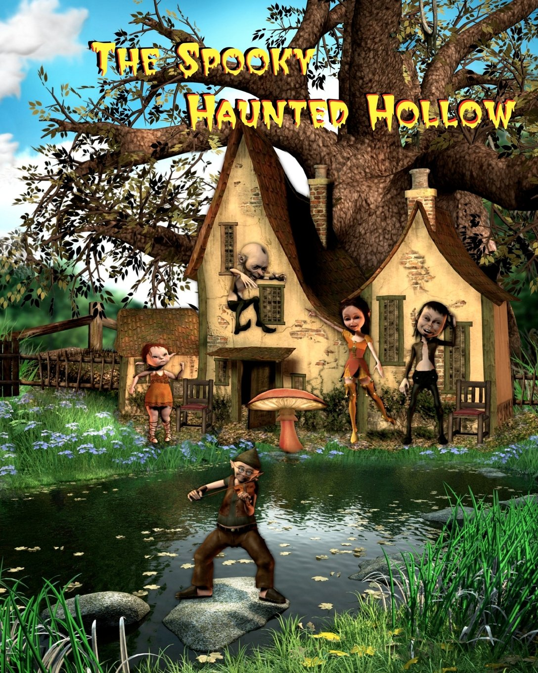 The Spooky Haunted Hollow PDF