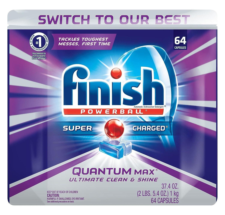 Dishwasher Brands Amazoncom Finish Quantum Max Fresh Automatic Dishwasher