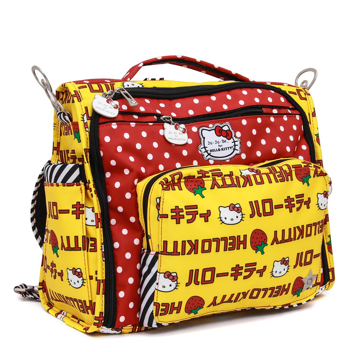 9fa7ef5b2465 Ju-Ju-Be - Hello Kitty Collection - B.F.F. - Convertible Nappy Changing Bag  - Rucksack   Messenger  Tote