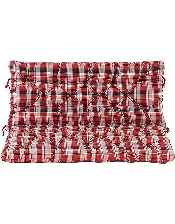 Cojín acolchado para lumbares Ambientehome Hanko para sofá de dos plazas de jardí