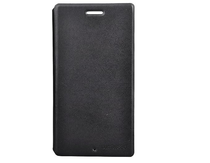 the latest 0048b bcaed ORIGINAL NOKIA Flip Cover For LUMIA 830 - Black