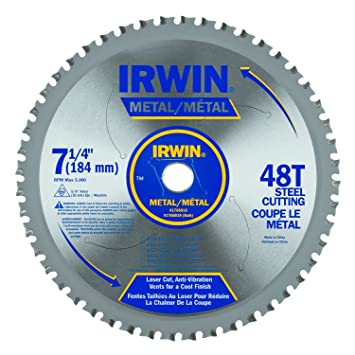 Irwin tools metal cutting circular saw blade 7 14 inch 48t irwin tools metal cutting circular saw blade 7 14 inch keyboard keysfo Choice Image