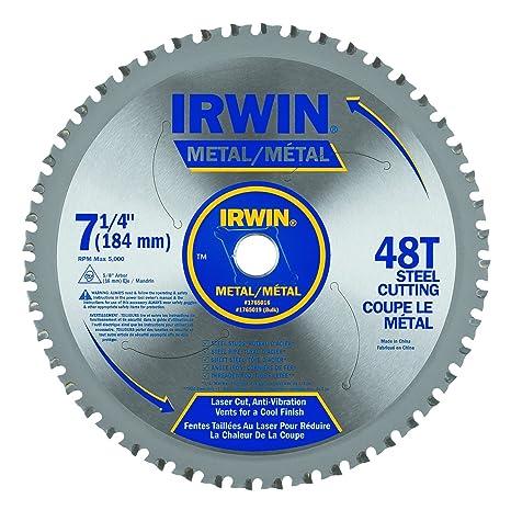 Irwin tools metal cutting circular saw blade 7 14 inch 48t irwin tools metal cutting circular saw blade 7 14 inch greentooth Choice Image
