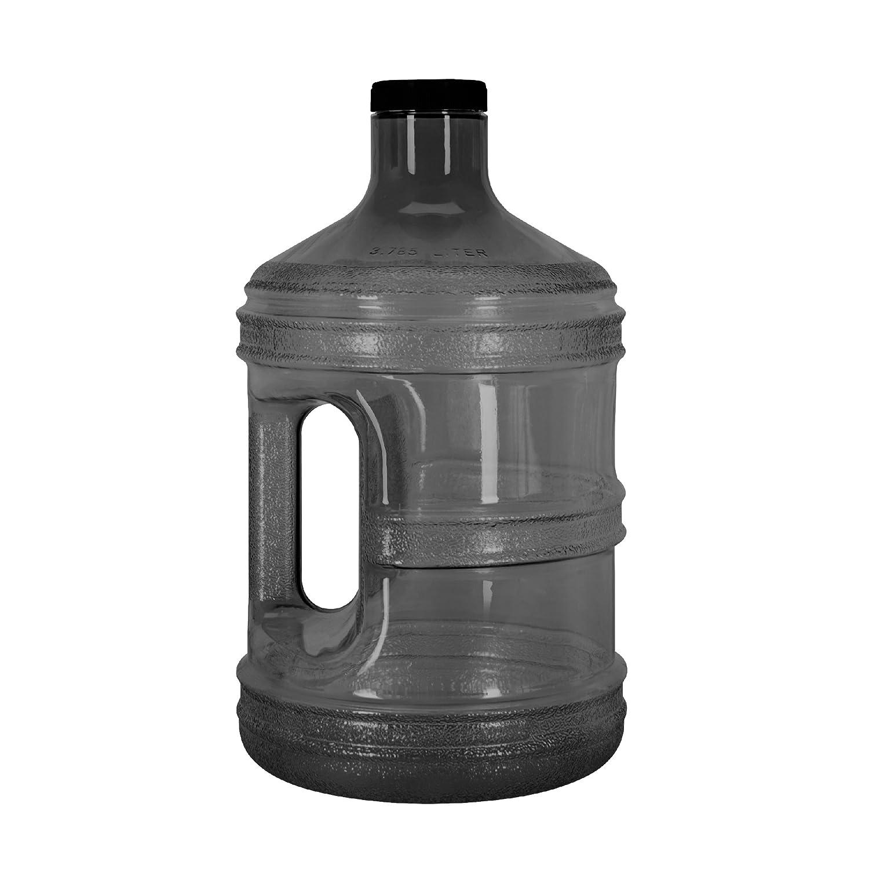 1 gallon jarra botella de agua potable de plástico sin BPA reutilizable Contenedor: Amazon.es: Hogar