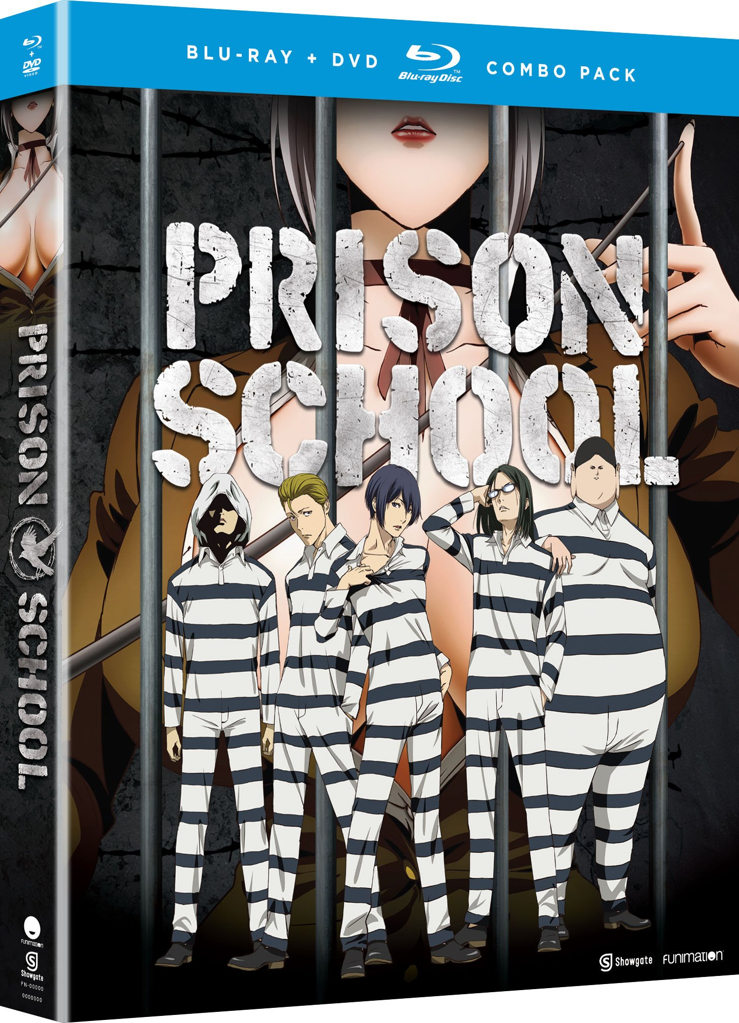 Blu-ray : Prison School: The Complete Series (With DVD, Boxed Set, , 4 Disc)