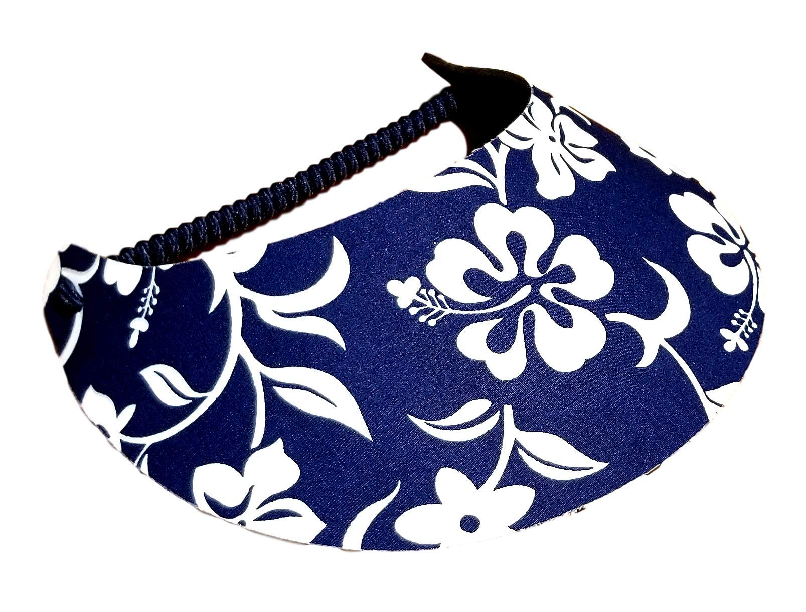 The Incredible Sunvisor Flower Patterns Perfect for Summer! Made in The USA!! (Hawaiian 4)