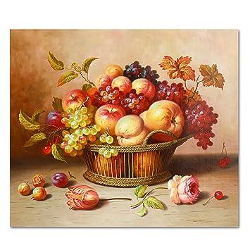raybre art® 55 x 65 cm impression sur toile sans cadre - fruit ... - Peinture Sur Toile Pour Cuisine