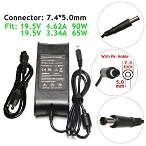 90W/65W Power Adapter Charger for Dell Latitude 3340 E5430 E5440 E5450 E5530 E5540 E5550 E6220 E6230 E6320 E6330 E6400 E6410 E6420 E6430 E6440 E6500 E6510 E6520 E6530 E6540 E7240 E7250 E7440 E7450