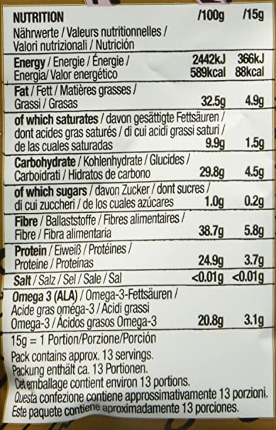 Marca Amazon - Happy Belly Semillas de chía orgánica, 7 x 200gr: Amazon.es: Alimentación y bebidas