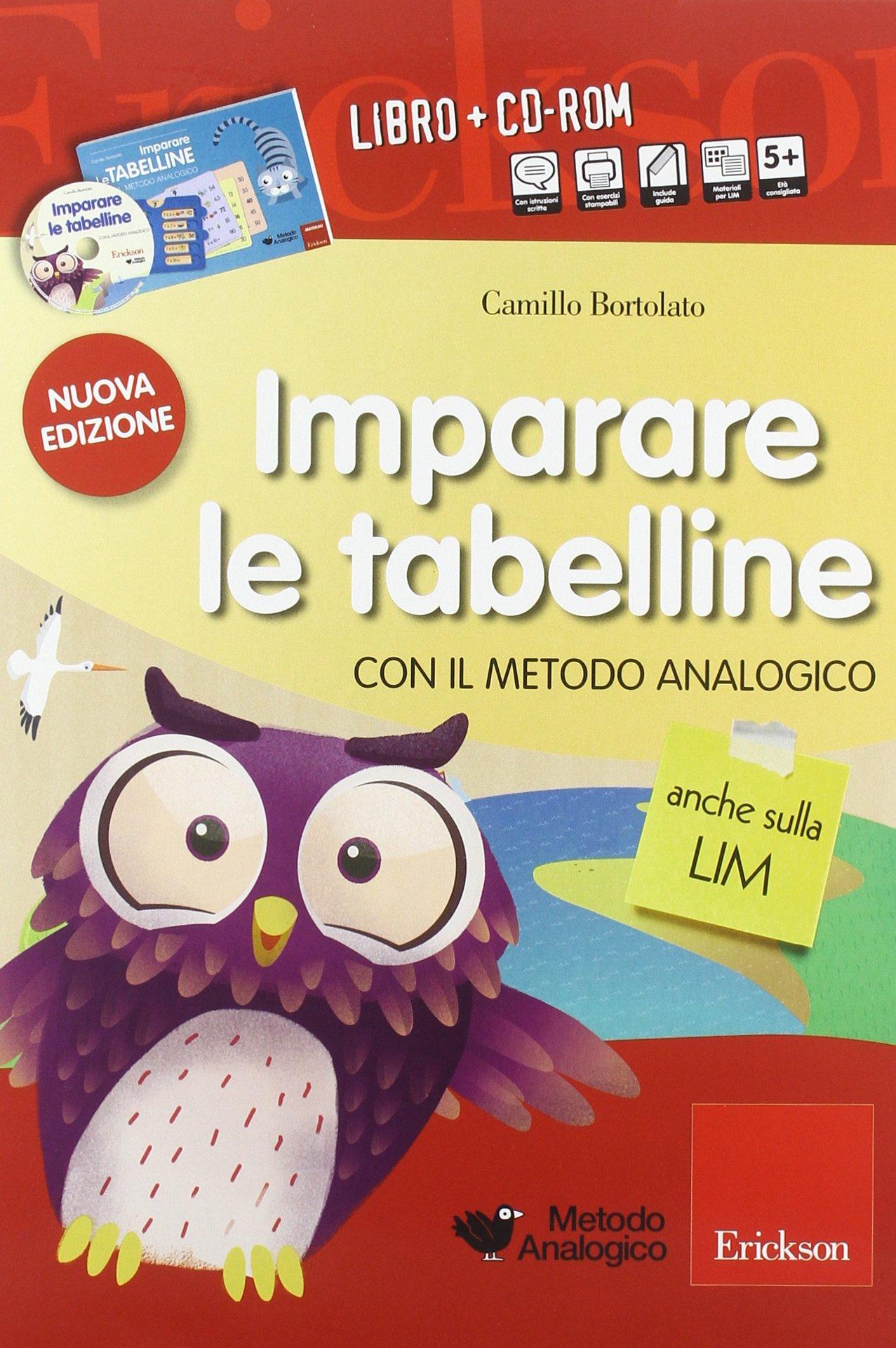 Imparare Le Tabelline Con Il Metodo Analogico Con Cd Rom Amazonit