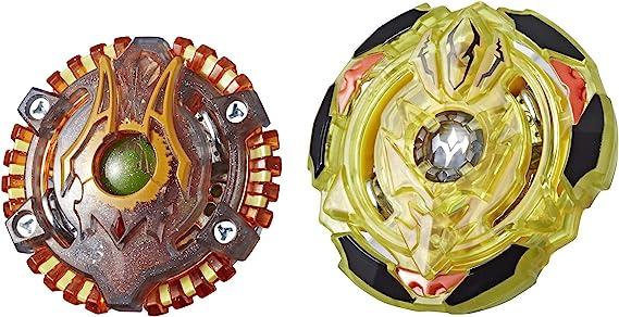 Hasbro Beyblade Burst Turbo SlingShock Dual Pack Spiral Treptune ...
