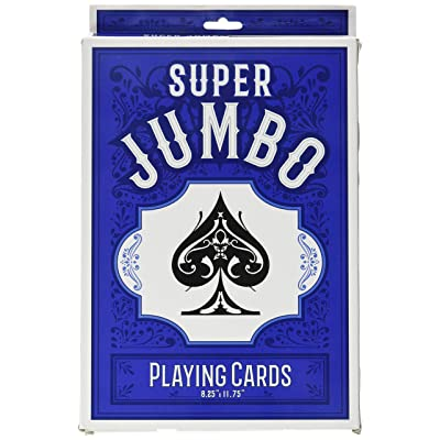 Super Jumbo Playing Cards: Industrial & Scientific