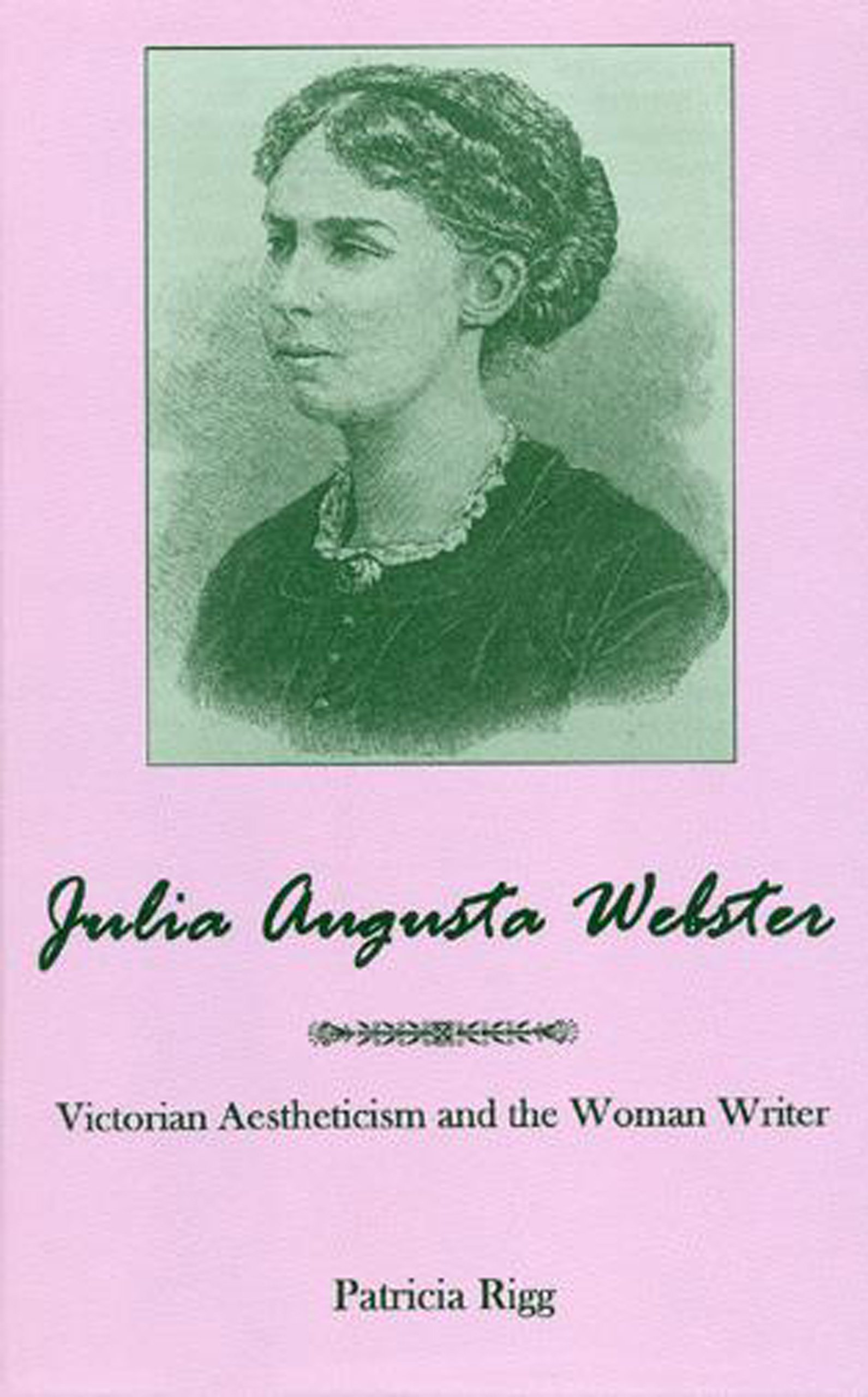 Amazon Julia Augusta Webster Victorian Aesthetisim And The