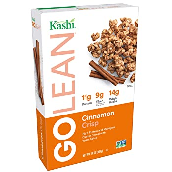 Kashi GO Cinnamon Crisp Breakfast Vegan Cereal