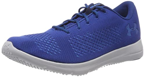 UA Rapid, Zapatillas de Running para Hombre, Azul (Midnight Navy/White/White 410), 44 EU Under Armour