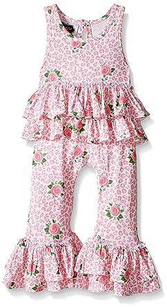 857003ed4 Amazon.com  Mud Pie Baby Rose Romper  Clothing