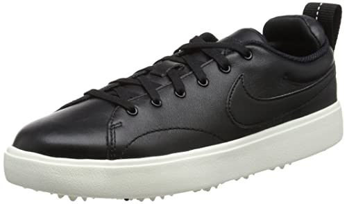 finest selection ab84b 28c80 Nike Wmns Course Classic, Zapatillas de Golf para Mujer, Negro Black/Sail  001, 37.5 EU: Amazon.es: Zapatos y complementos