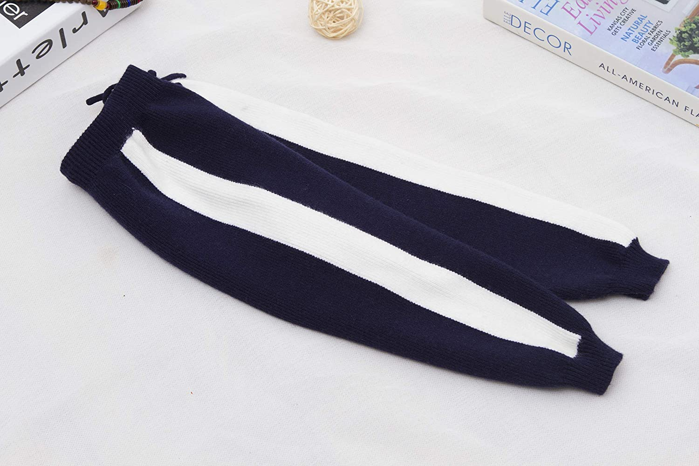 Baosdooya Unisex Kid Toddler Cotton Pants Baby Elastic Trousers